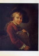 Francois Hubert Drouais - 1727-1775 - The Young Student - Musee Du Lovre - Formato Grande Non Viaggiata – E 14 - Musei