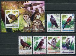 Cuba 2017 / Birds MNH Vögel Aves Oiseaux Uccelli / Cu6200  37-41 - Pájaros