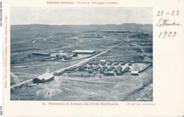 ERITREA-COLONIA ERITREA PANORAMA DI ASMARA DAL FORTE BALDISSERA - Eritrea