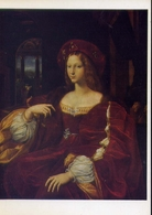 Sanzio Raphael - Jeanne Of Aragon - Musee Lovre - Formato Grande Non Viaggiata – E 14 - Musei