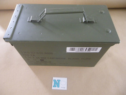 Caisse Munitions Métallique 5,56 Mm   (N) - Equipement