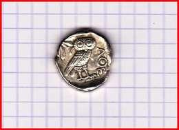 GRECE ATHENES Tetradrachme Vè Avt JC Collection BP Trésor Des Monnaies Antiques N°3 TB Publicité Pièce Factice Monnaie - Royaux / De Noblesse