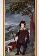 Velazquez - El Principe Don Baltasar Carios - Con Cane - Formato Grande Non Viaggiata – E 14 - Musei
