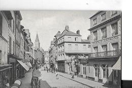 LISIEUX N 227   HOTEL DE FRANCE ET ESPAGNE      PERSONNAGES  DEPT 14 - Lisieux