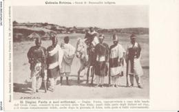 ERITREA-COLONIA ERITREA DEGIAC FANTA E I SUOI SOTTOCAPI - Eritrea