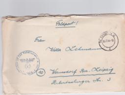 German Feldpost WW2: From Torun In Poland - Schule IV Für Fahnenjunker Der Infanterie P/m Thorn 2 15.12.1944 - Militaria