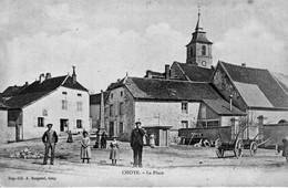 CHOYE (Haute-Saône) - La Place. Edition Bergeret. Circulée En 1911. Bon état. - Francia