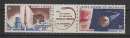 Saint Pierre Et Miquelon 1965 Lancement 1er Satellite PA 34A Neuf ** MNH - Ongebruikt