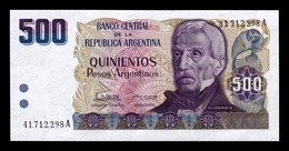Argentina 500 Pesos 1984 Pick 316 SC UNC - Argentina