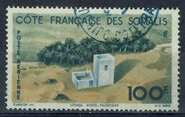 French Somali Coast, Border Crossing, Loyada, 1947, VFU airmail - Used Stamps
