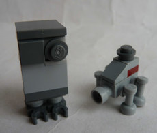 FIGURINE LEGO STAR WARS - GONK DROID + OTHER DROID - MINI FIGURE Légo - Figuren