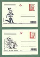2 Cartes - Année 2003 - Cartes Illustrées