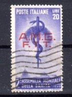 TRIESTE A--- AMMINISTRAZIONE   ANGLO --AMERICANA  USATI - Trieste