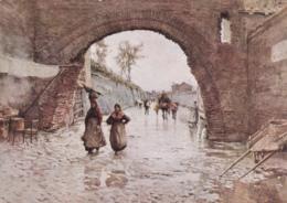 Postcard - Art - Ettore Roesler Franz (1845-1907) - Serie Roma Sparita - VG - Unclassified