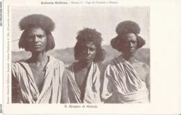 ERITREA-COLONIA ERITREA GRUPPO DI HABAB - Eritrea