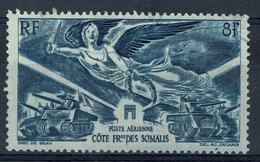 French Somali Coast, Victory, WWII, 1946, VFU airmail - Used Stamps