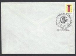 Chess, Argentina Posadas, 03.12.1988, Special Cancel On Envelope, - Schach
