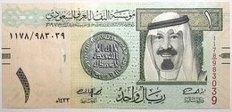 Arabie Saoudite - 1 Riyal - 2012 - PICK 31c - NEUF - Arabie Saoudite
