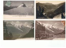 1948-714  43cp Env De Chamonix: Mont Blanc-mer De Glace-montenvers Etc La Vente Sera Retirée  Le 14-12 - Chamonix-Mont-Blanc