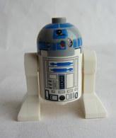 FIGURINE LEGO STAR WARS -  R2-D2 LIGHT BLUISH GREY HEAD  - MINI FIGURE 2008 à 2013 Légo - Figurines