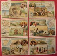 6 Chromo Liebig : Pays De L'Europe (suisse, France, Roumanie, Portugal, Espagne, Italie). 1913. S 1076. Chromos. - Liebig