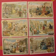 6 Chromo Liebig : L'argent à Différentes époques. 1908. S 921. Chromos. - Liebig
