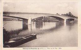 Chissay En Touraine   567         Pont Sur Le Cher  ( Cachet Daguin ) - Other Municipalities
