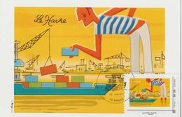 France Carte Maximum Armada Rouen 2019 TimbraMoi Fernand - Francia