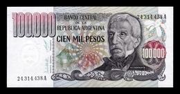 Argentina 100000 Pesos 1979-1983 Pick 308a Serie A SC UNC - Argentina