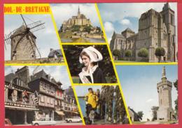 CPM-35-DOL-de-BRETAGNE - Multivues - Moulin Du Mt Dol, Coiffe De DOL, Bouchots à Moules* 2 SCAN- - Dol De Bretagne