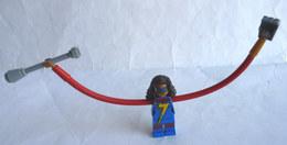 FIGURINE LEGO SUPER HEROS - MISS MARVEL  - MINI FIGURE 2017 Légo - Figuren