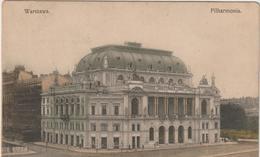 Pologne :  Warszawa  , Filharmonia - Polonia