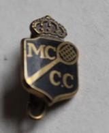 Rare Ancienne Broche émaillée Tennis Monte Carlo Country Club MC CC Drago Paris - Habillement, Souvenirs & Autres