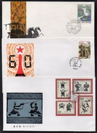 PR CHINA - CHINE / 1985-1986 - 3 ENVELOPPES FDC (7037) - 1980-89