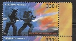 ARMENIA, 2019, MNH, FIREFIGHTERS,1v - Firemen