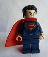 FIGURINE LEGO SUPER HEROS - SUPERMAN 2016  - MINI FIGURE Légo - Figuren