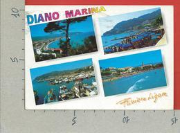 CARTOLINA VG ITALIA - DIANO MARINA (IM) - Vedutine Multivue - 10 X 15 - 2003 DONNE ARTE DOPPIA VALUTA 0,41€ - Imperia
