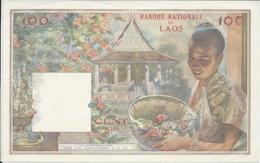 Laos   100 Kip     Nd(1957)   --- SUP -- - Laos