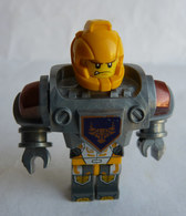 FIGURINE LEGO NEXO KNIGHT - AXL  - MINI FIGURE 2016 Incomplet Légo - Figuren