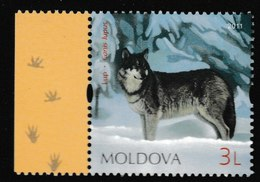 N 553) Moldawien 2011 **: Wolf Canis Lupus - Hunde