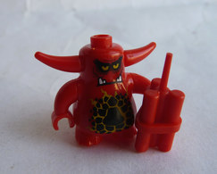 FIGURINE LEGO NEXO KNIGHT - SCURRIER 4 TEETH  - MINI FIGURE 2016 Légo - Figuren