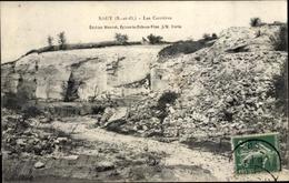 Cp Sagy Val D'Oise, Les Carrieres - France