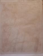 MORMONT CARTE AU 1/10.000 NUMERO 55/2 - Autres Collections