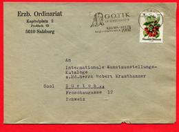 Österreich, Austria,  1966,    Salzburg,  GOTIK Krems- Stein - 1945-.... 2nd Republic