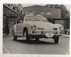 C3182/  Karman Ghia Cabrio Typ 14 Foto Ca. 1968  24 X 18 Cm - Oude Documenten