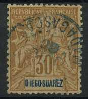 Diégo-Suarez (1893) N 46 (o) - Diego-suarez (1890-1898)
