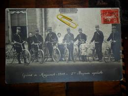 Carte Photo,Grèves De Mazamet,1909,2ème Brigade Cycliste - Mazamet