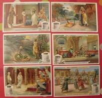 6 Chromo Liebig : Nala Et Damayanti, Conte Hindou. 1908. S 941. Chromos. - Liebig