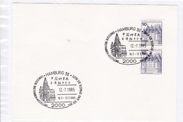 BRD.Mi:913 I C/D Sonderstempel: 2000 Hamburg 36. Chinesische Briefmarkenausstellung Von Der Qing-Dynastie Bis Heute 198 - Affrancature Meccaniche Rosse (EMA)