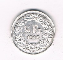 1/2 FRANC 1946  B ZWITSERLAND /8885/ - Zwitserland